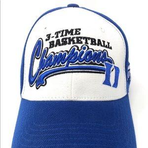 NCAA Duke Basketball 3 Time Champions Hat